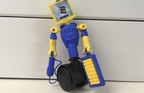 Window's 95 Computer Action Figure